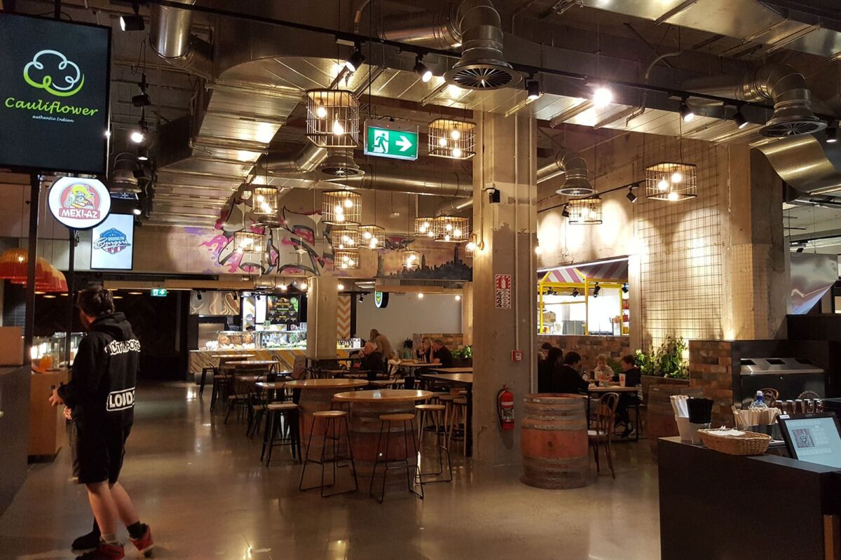 Palmerston's Downtown Food Court